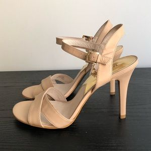 Michael Kors leather strapped heels